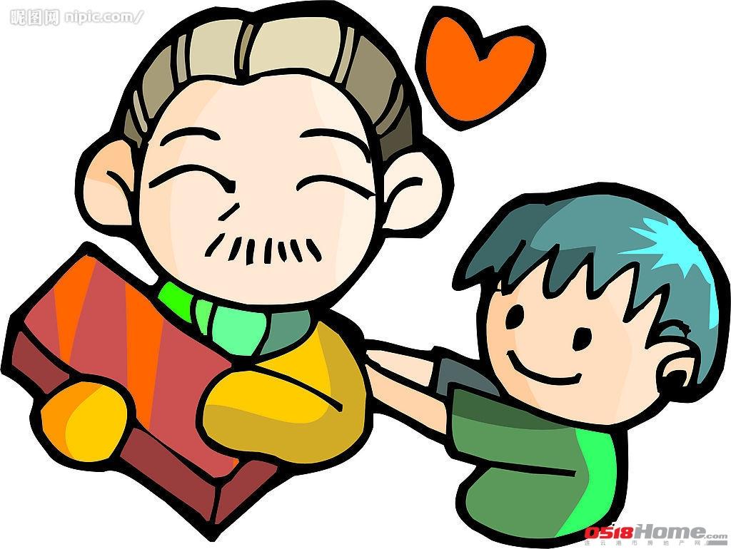 关于感恩父母的图片卡通