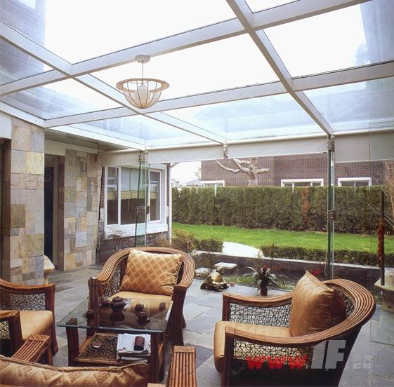 入户花园 阳台及别墅庭院装修图片