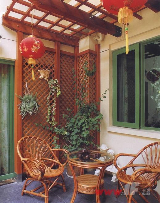 入户花园,阳台及别墅庭院装修图片
