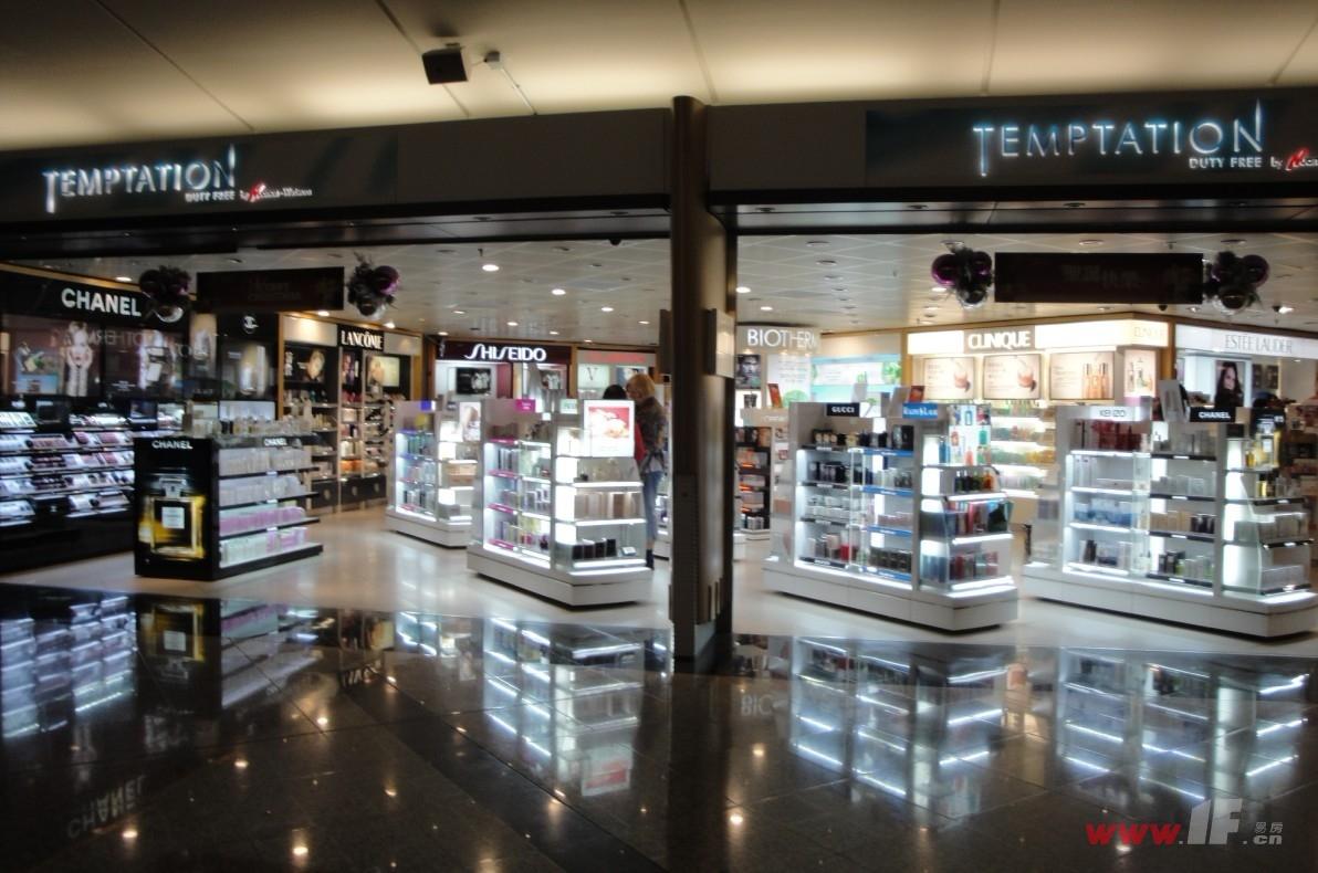 香港机场的免税店