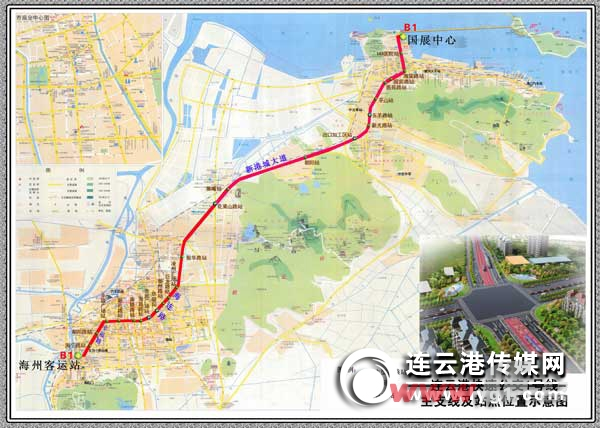 1号线BRT线路图图片