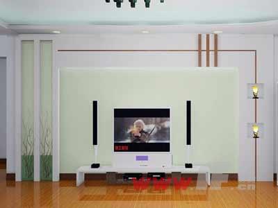 2012年最流行的电视背景墙推荐