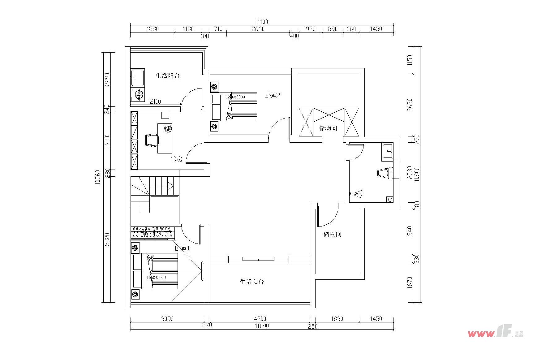 .   一品苑小区,15#1-401装修平面布置图   效果图客餐厅