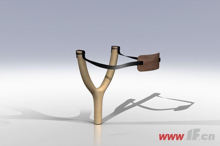 小时候,在家常会自己动手制作弹弓,一个大小合适的y型树杈,外加几根