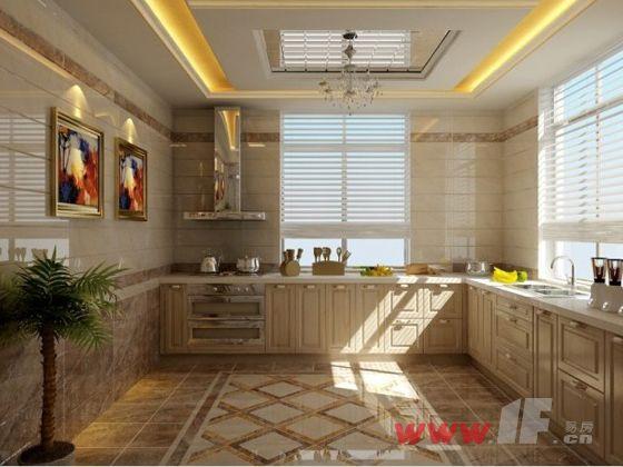 金意陶陶瓷厨房效果图展示